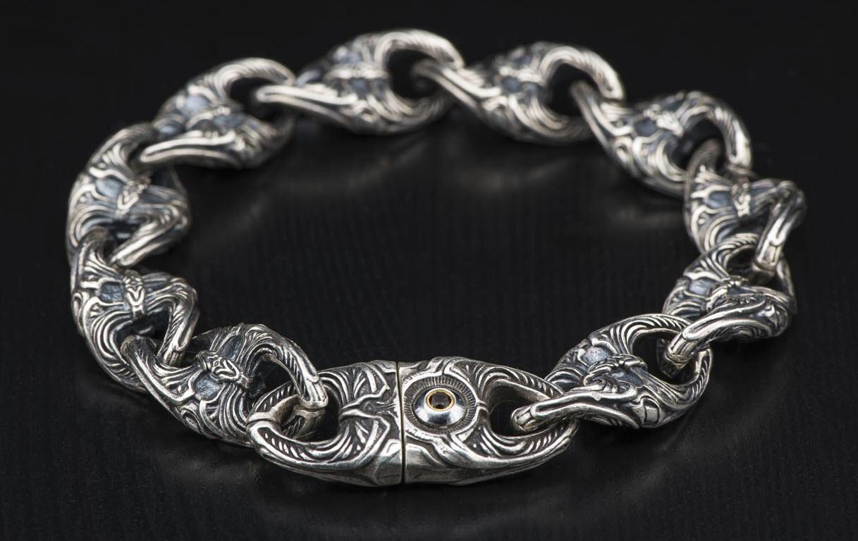William Henry - Small silver bracelet