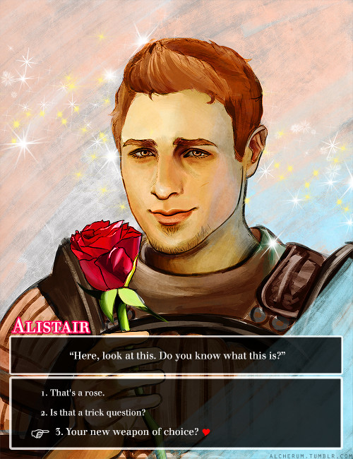 Dragon age dating sim