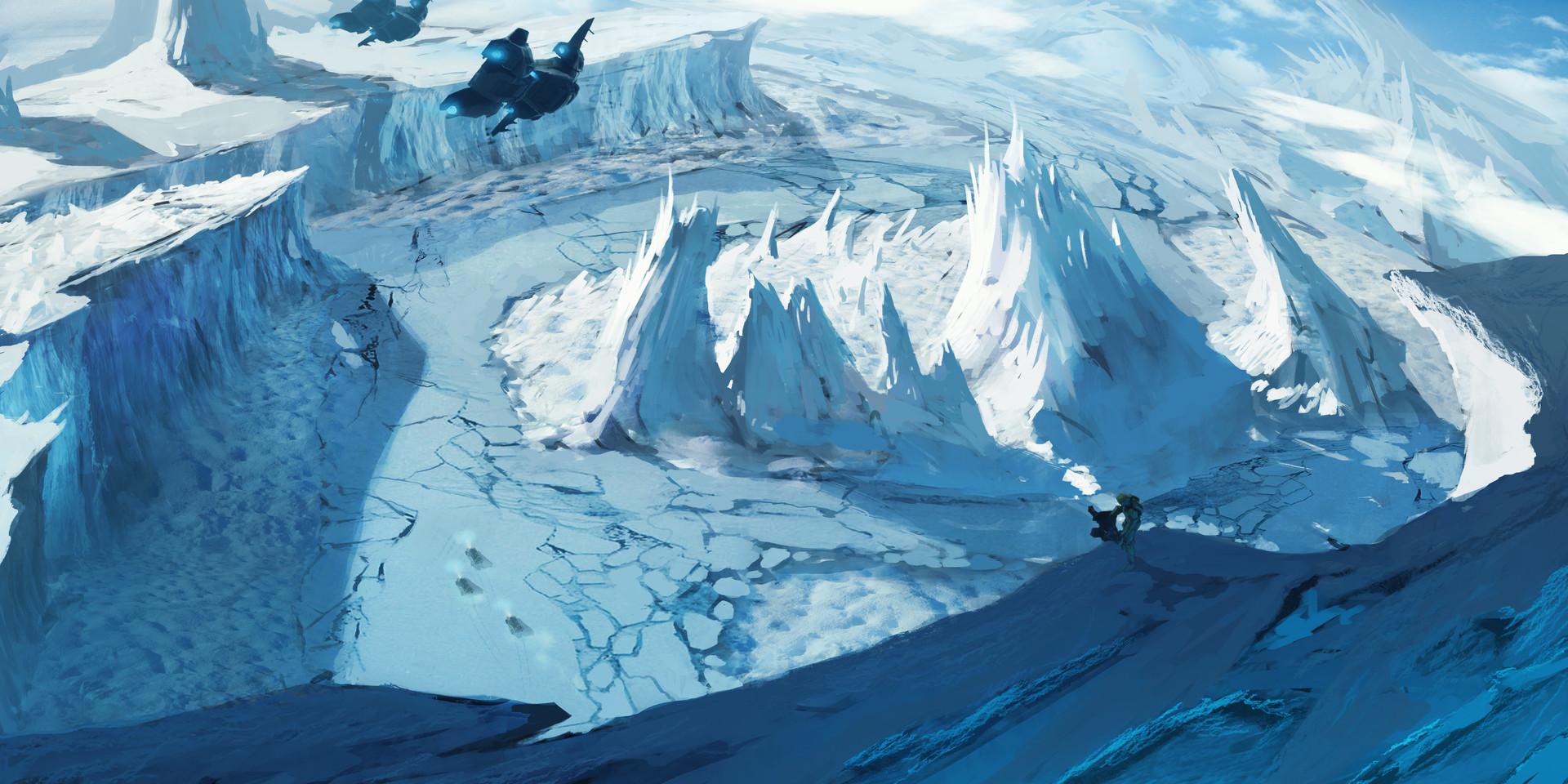 Brx wright refugia sketches ice ice