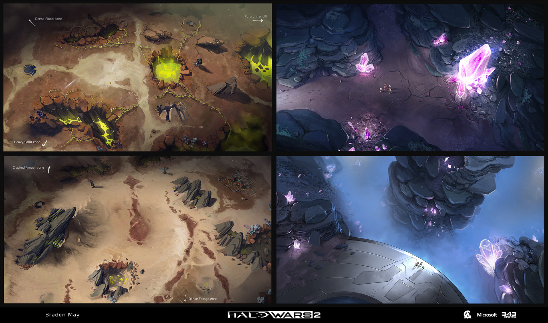 ArtStation - Halo Wars 2: Concepts & Paintovers, Braden May
