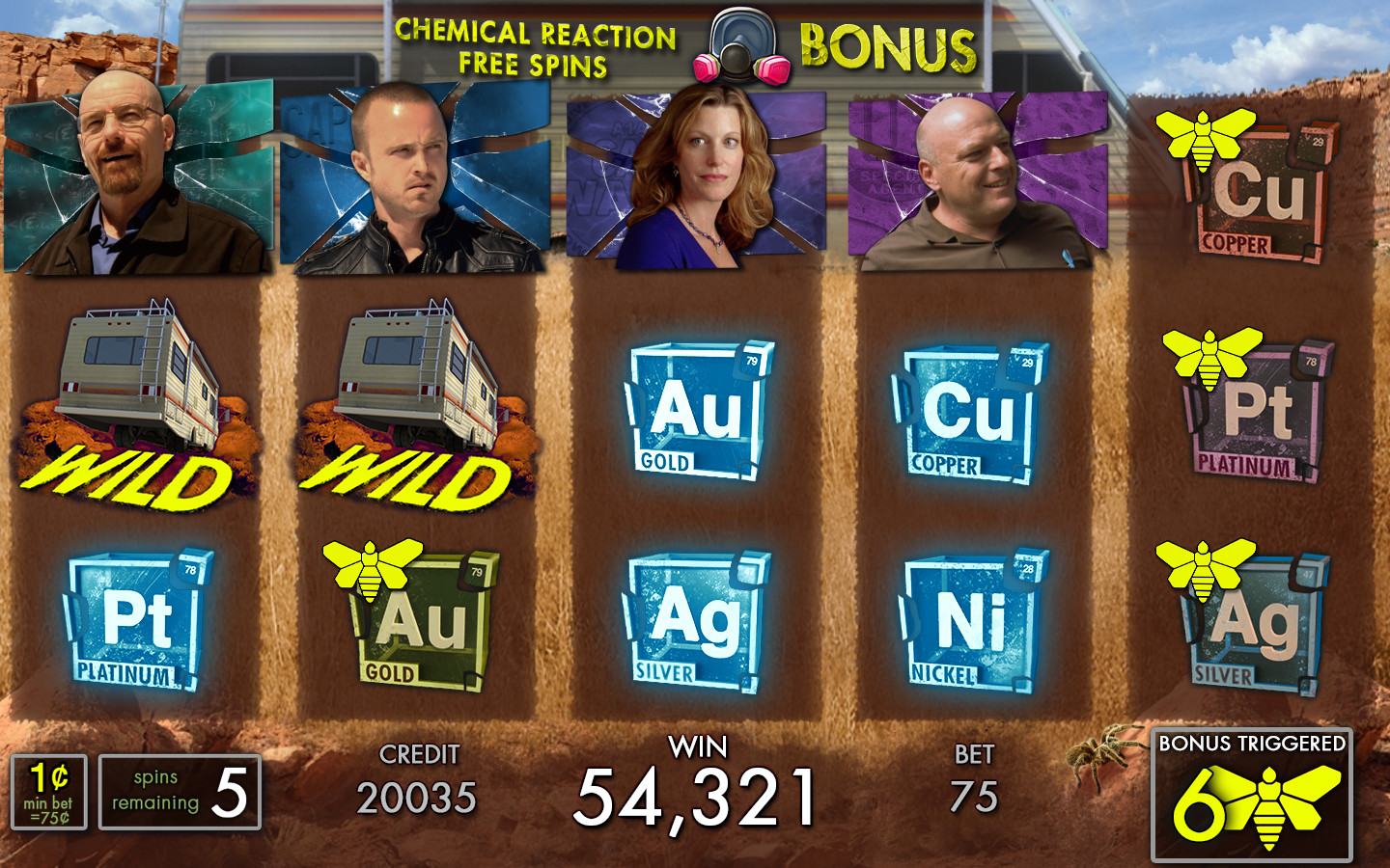Free Spins for Breaking Bad.