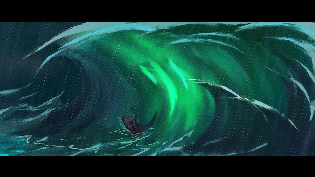 Harrison yinfaowei 27 9 17 ship wreck rain