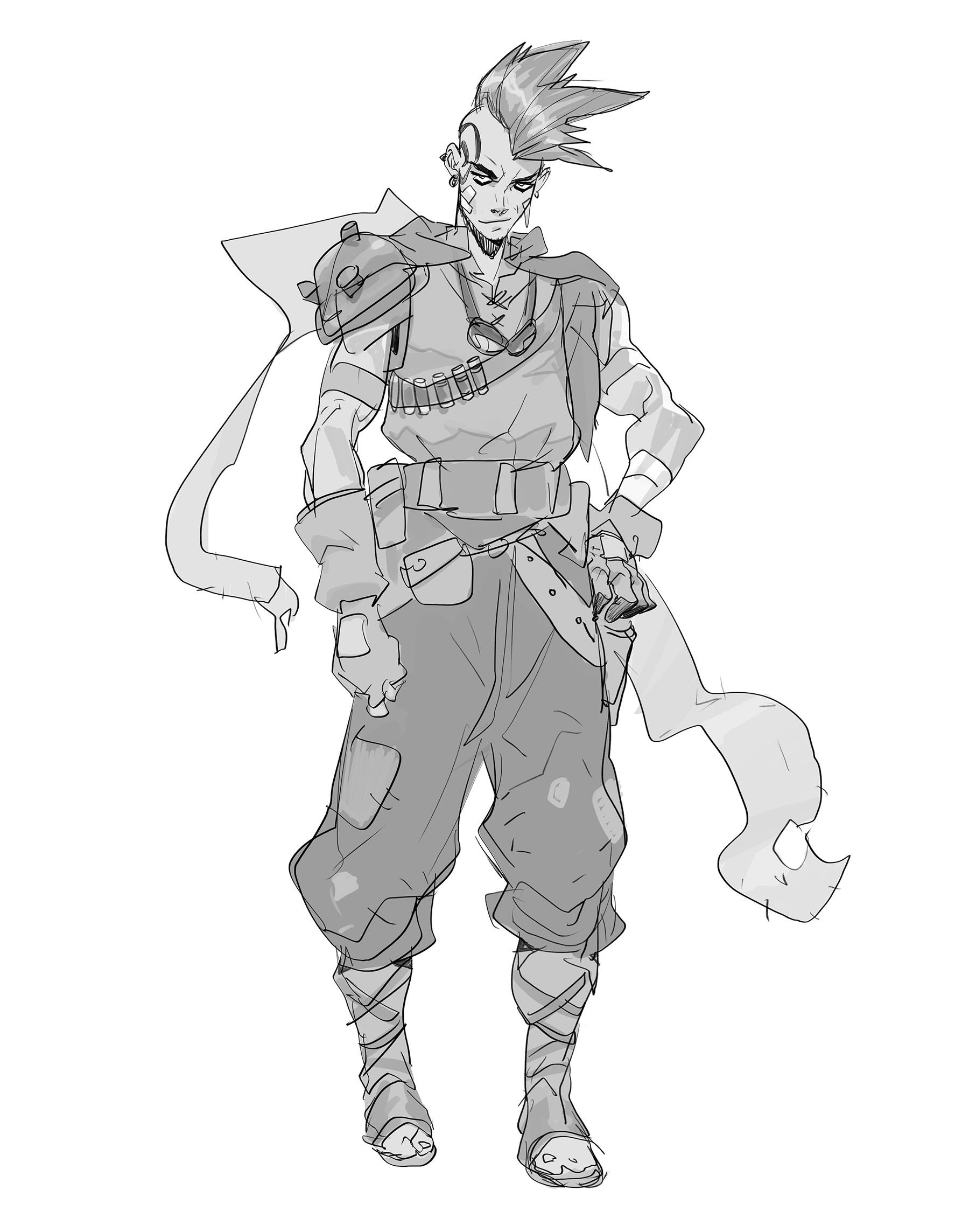 Hicham habchi character skull3