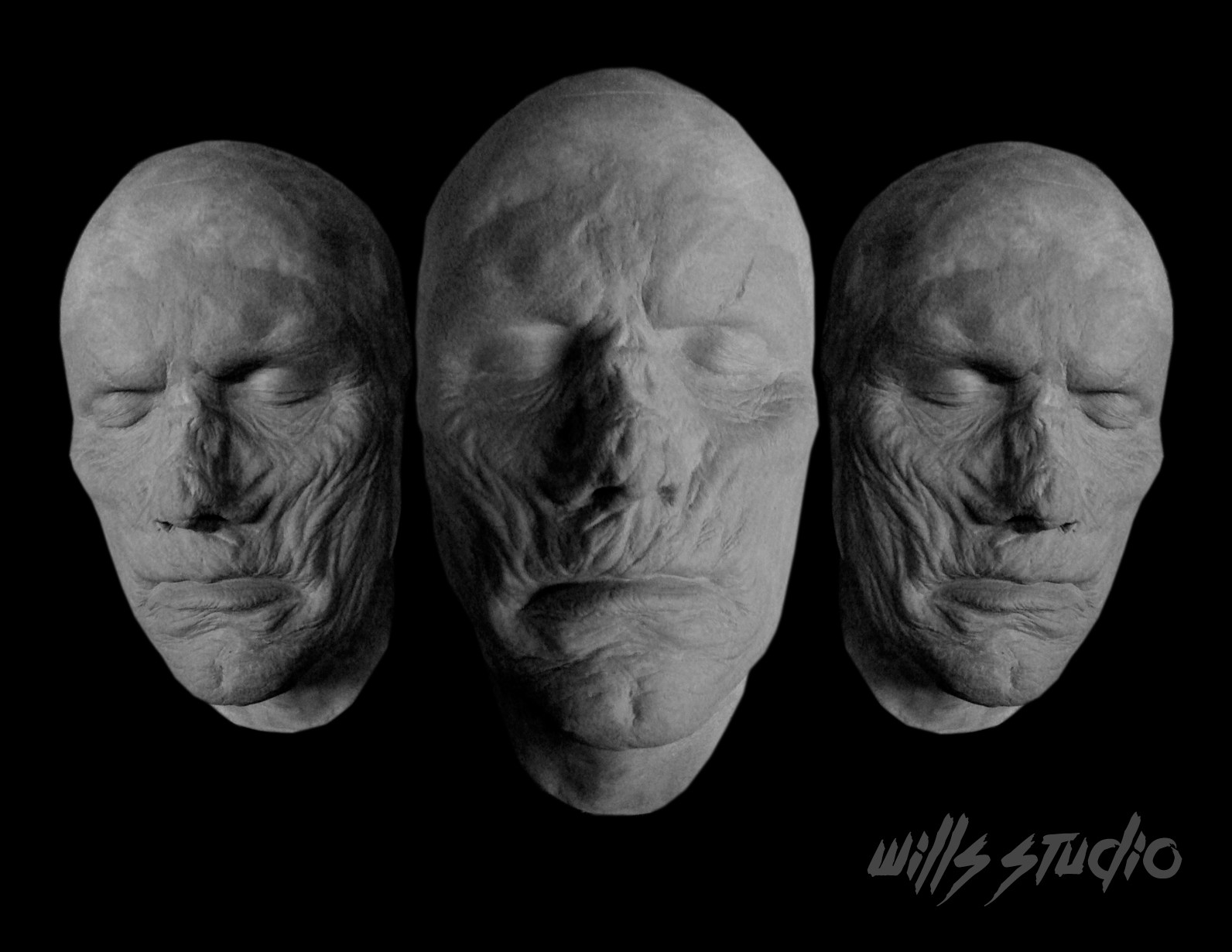 Charles wills zombiesculptprosthetic
