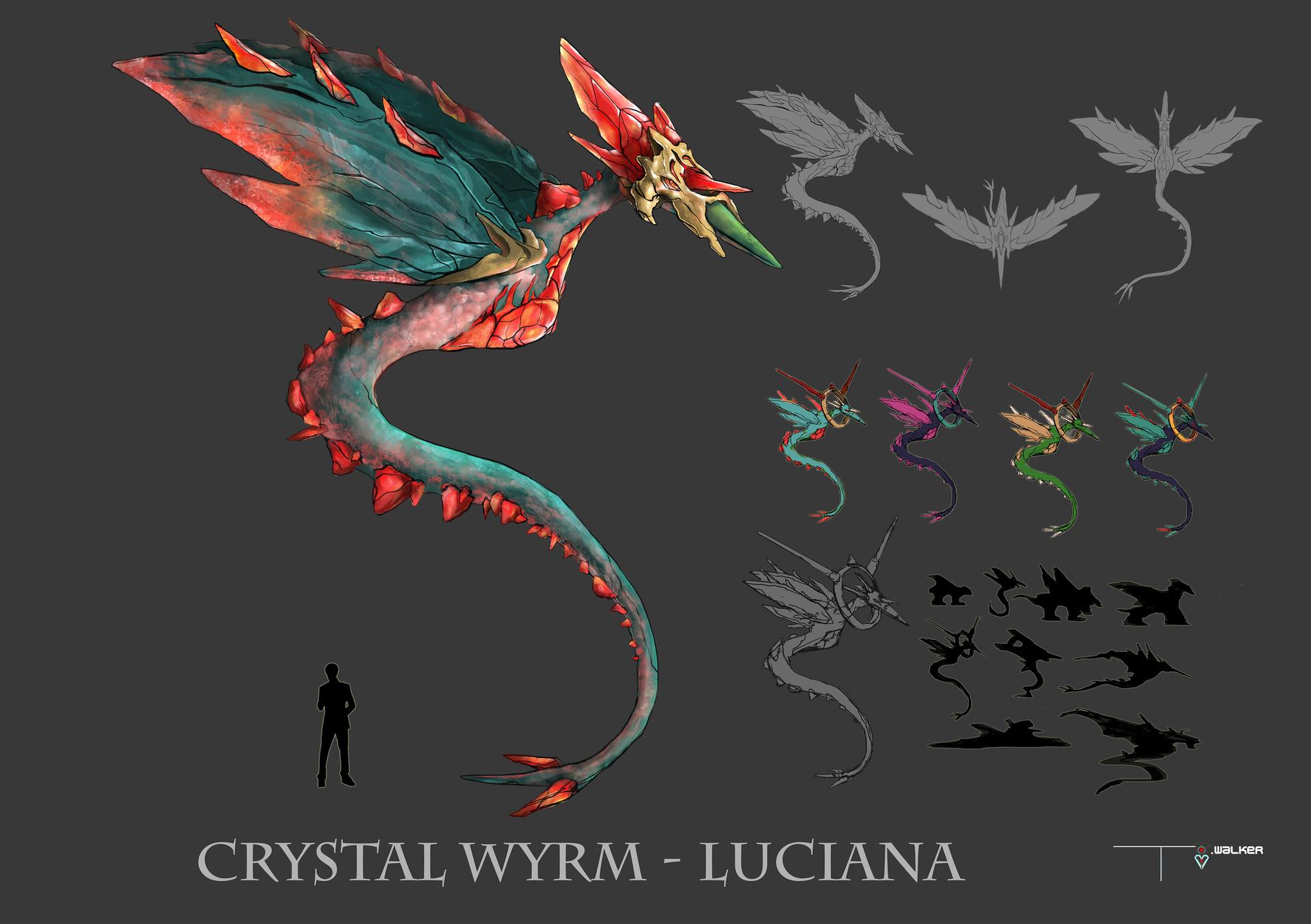 Temarius walker crystal wyrm smaller presentation 01