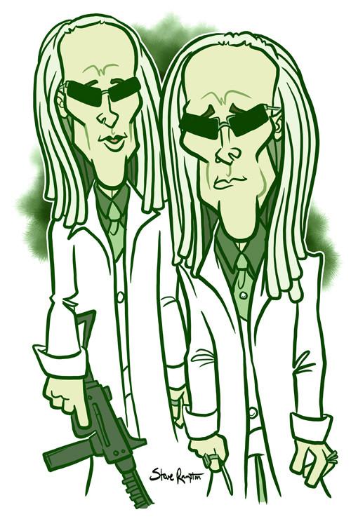 Steve rampton matrix twins