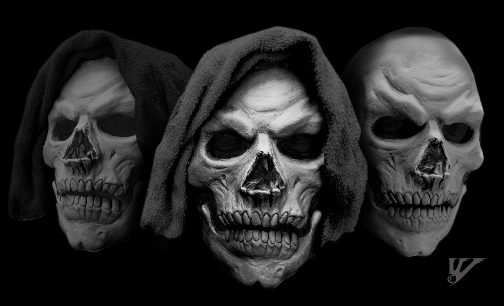 Charles wills skull prosthetic layout