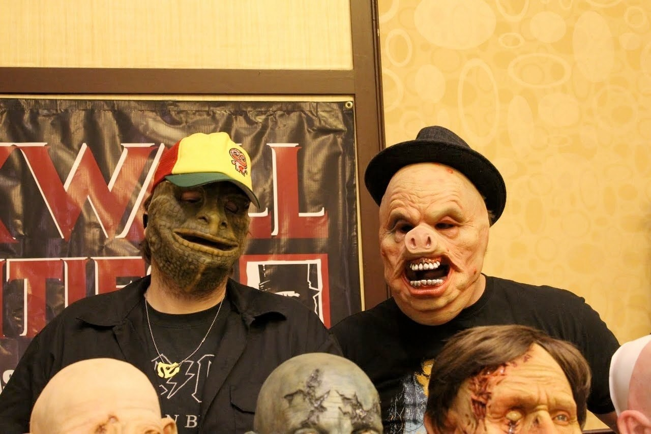 Charles wills halloween masks weekend horror