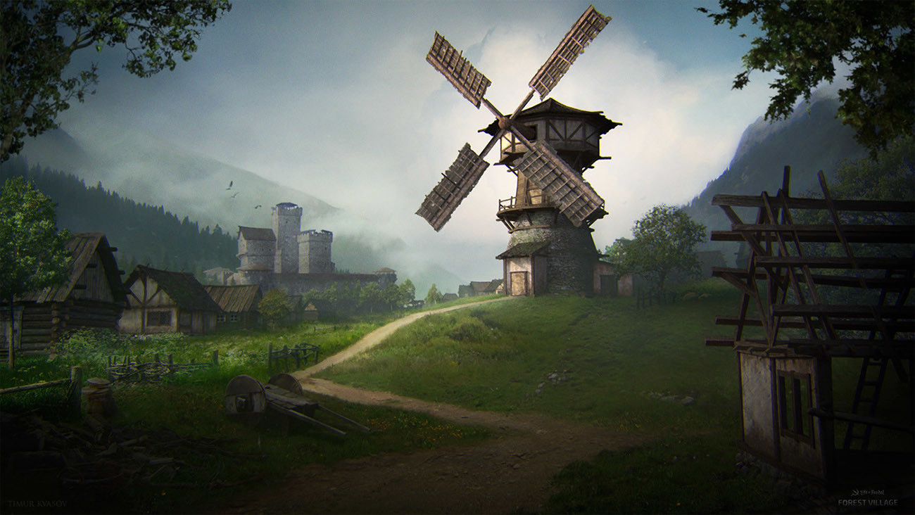 Forest Village - Windmill