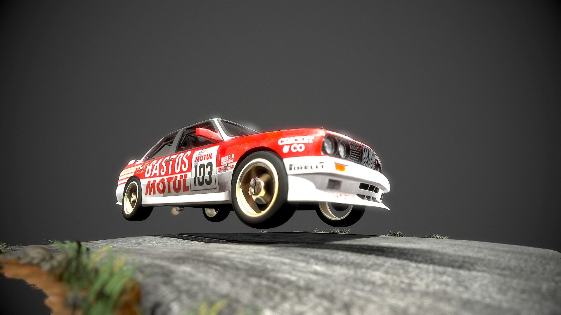 Veaceslav Condraciuc Bmw M3 E30 Rally Car