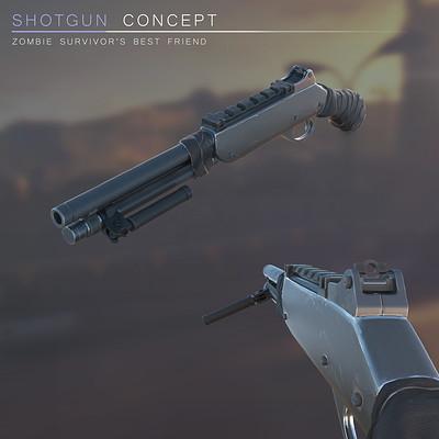 Shotgun concept art