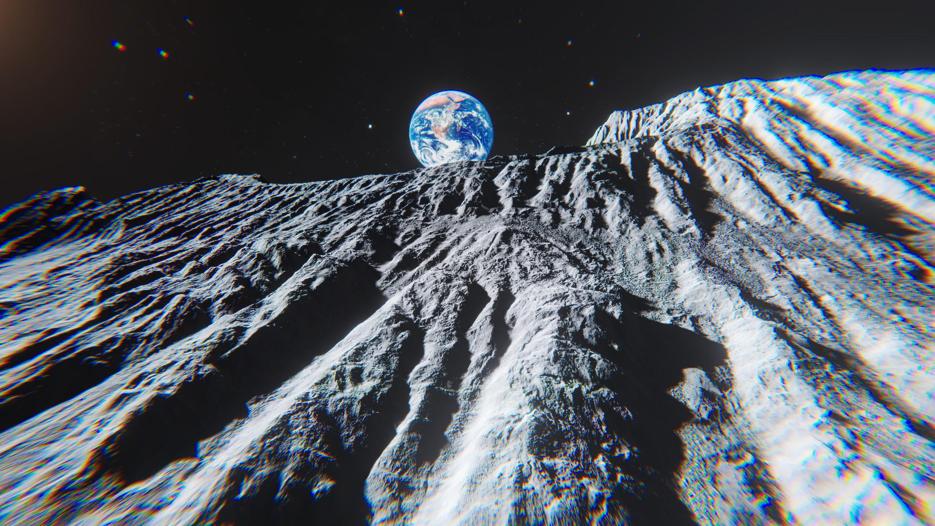 ArtStation - [Unity] - Moon terrain pack, Sergey Kuydin