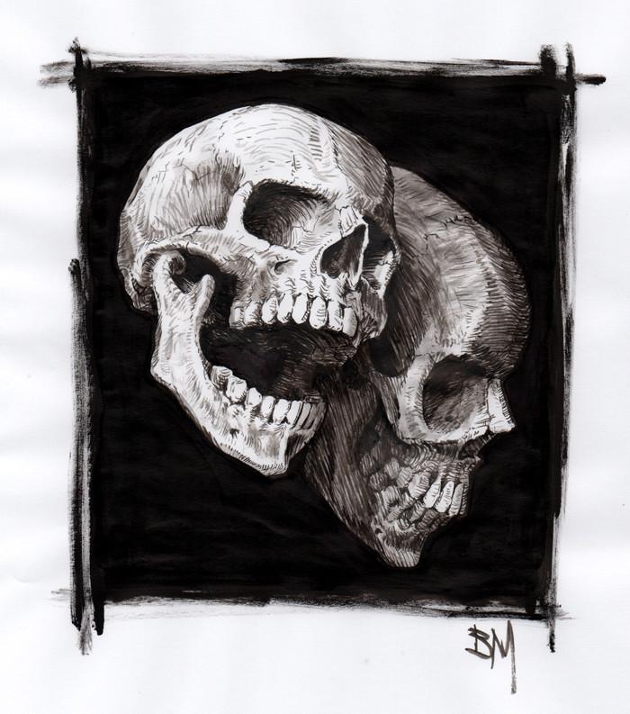 Bill melvin skulls