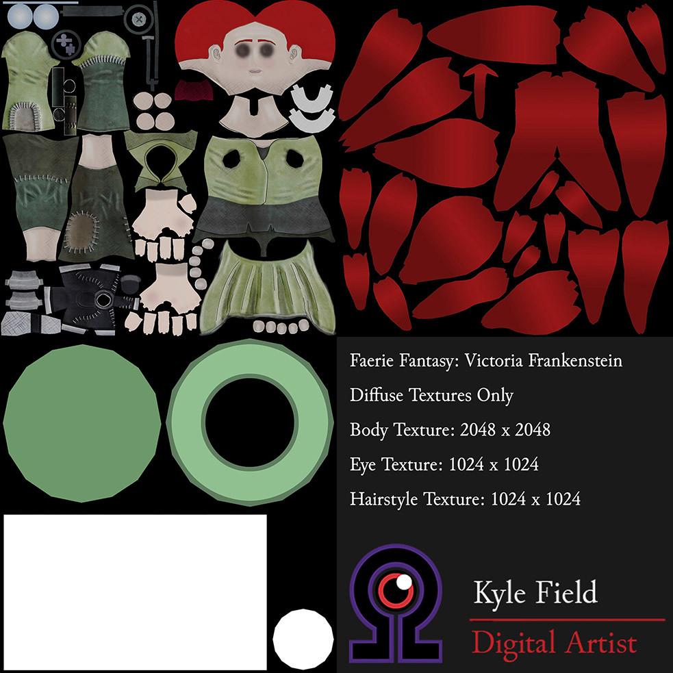 Kyle field victoria textures