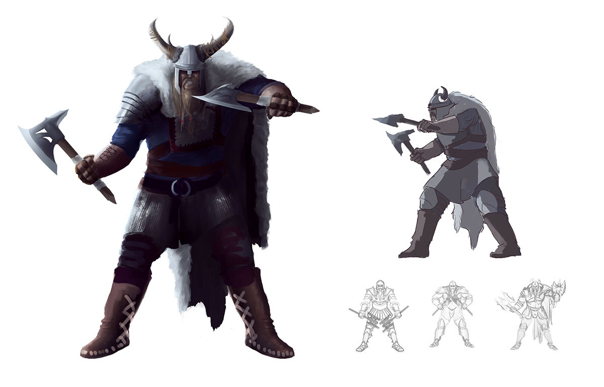 Barbarian for Barbarian videogame