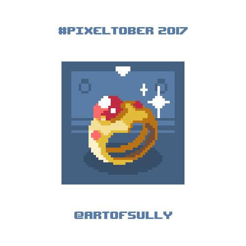 #pixeltober - Day 16 - 'Enchanted Ring'
