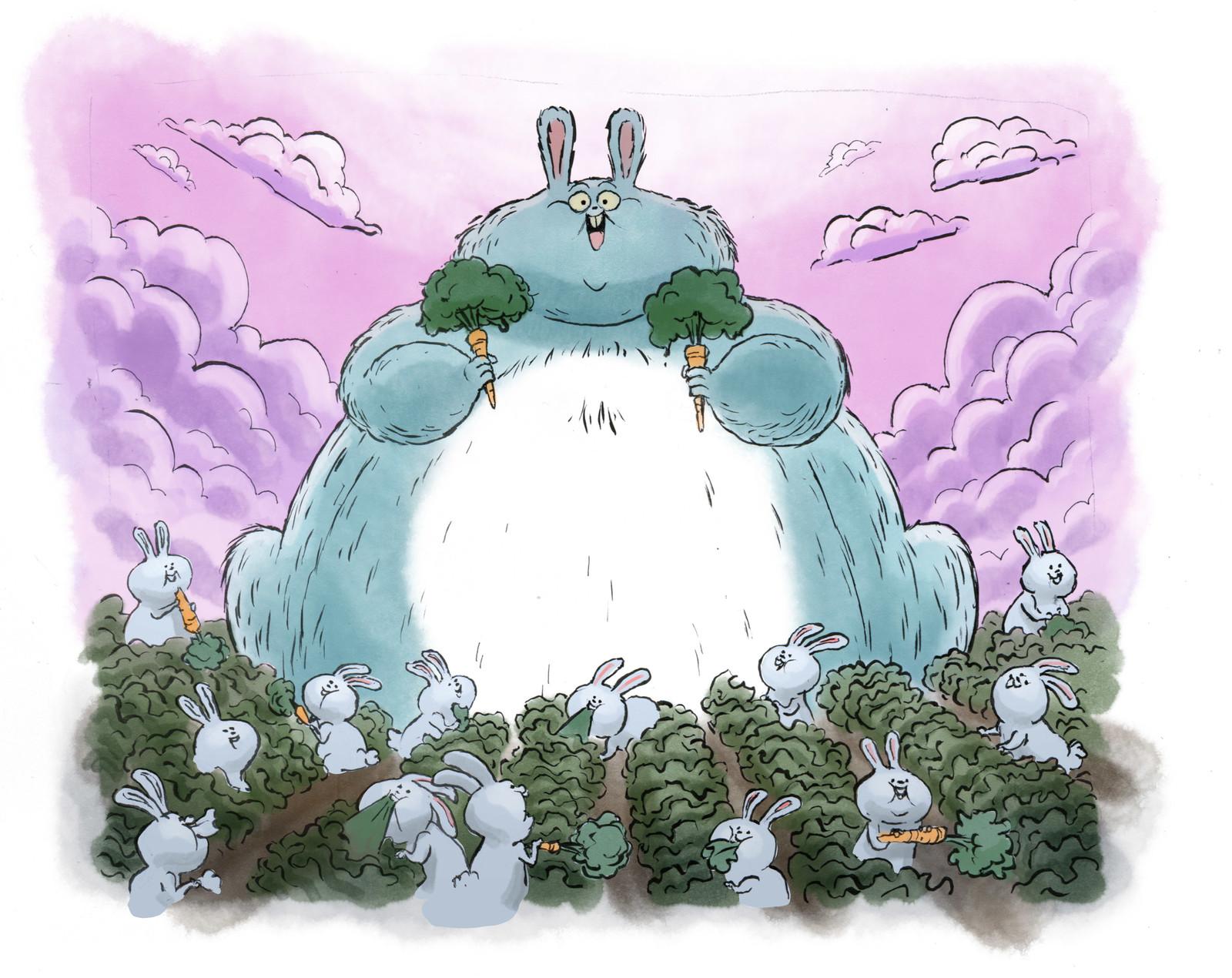 "Inktober #16 ""FAT"""