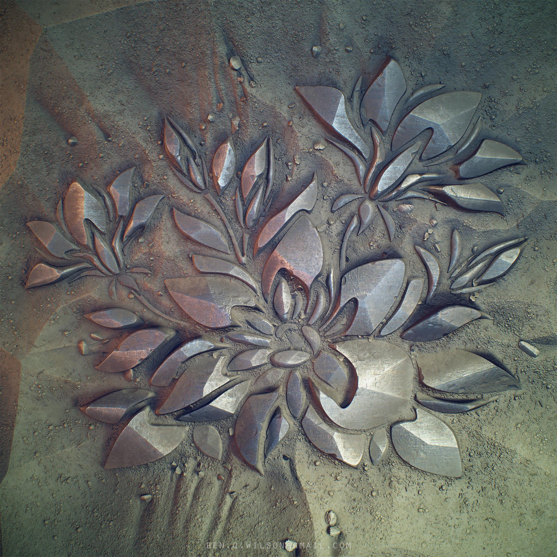 Ben wilson flood fill flower render c
