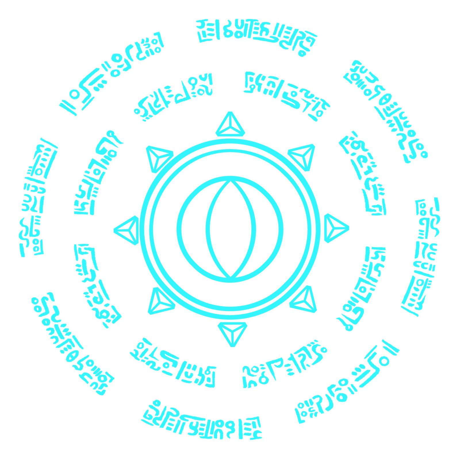 Glowing Runes emissive mask