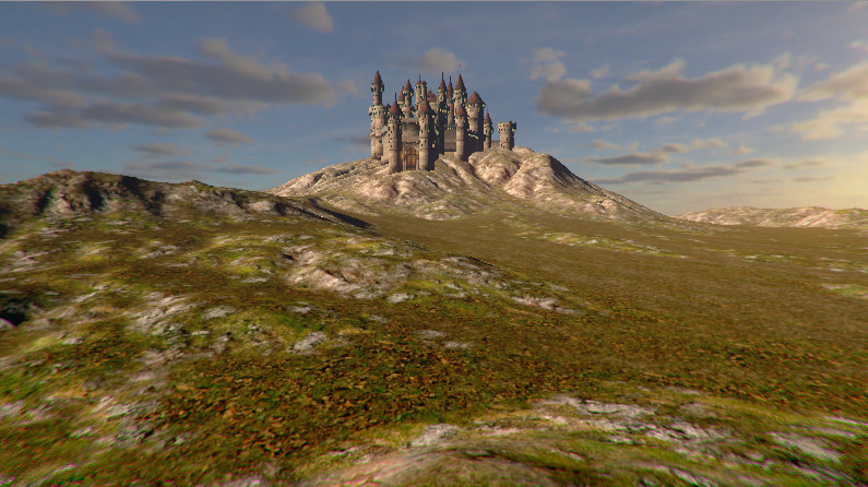 elevating terrain