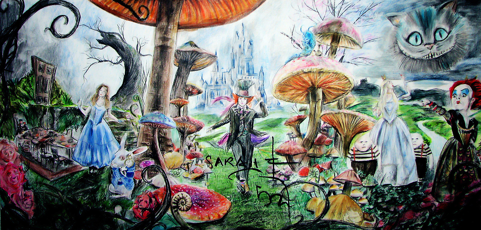 alice in wonderland 2 essay Free summary and analysis of wonderland, chapter 2 in lewis carroll's alice's adventures in wonderland and through the looking-glass that won't make you snore we promise.