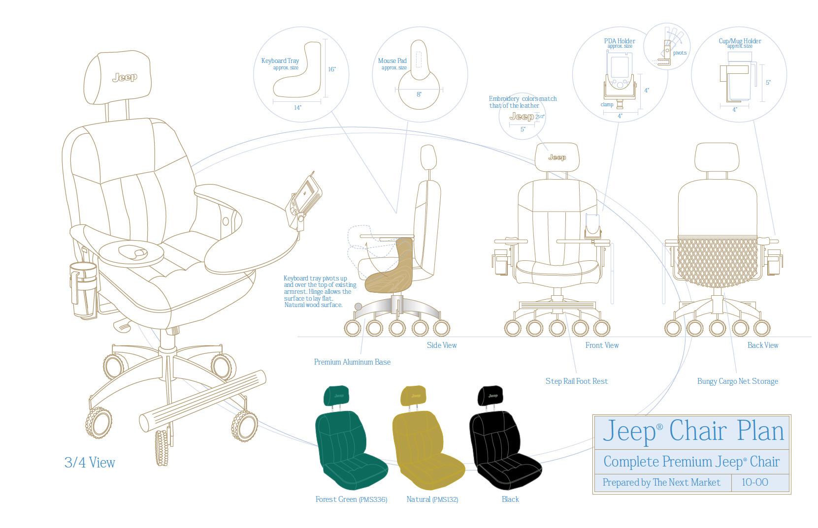 Patrick hatfield jeep chair 3