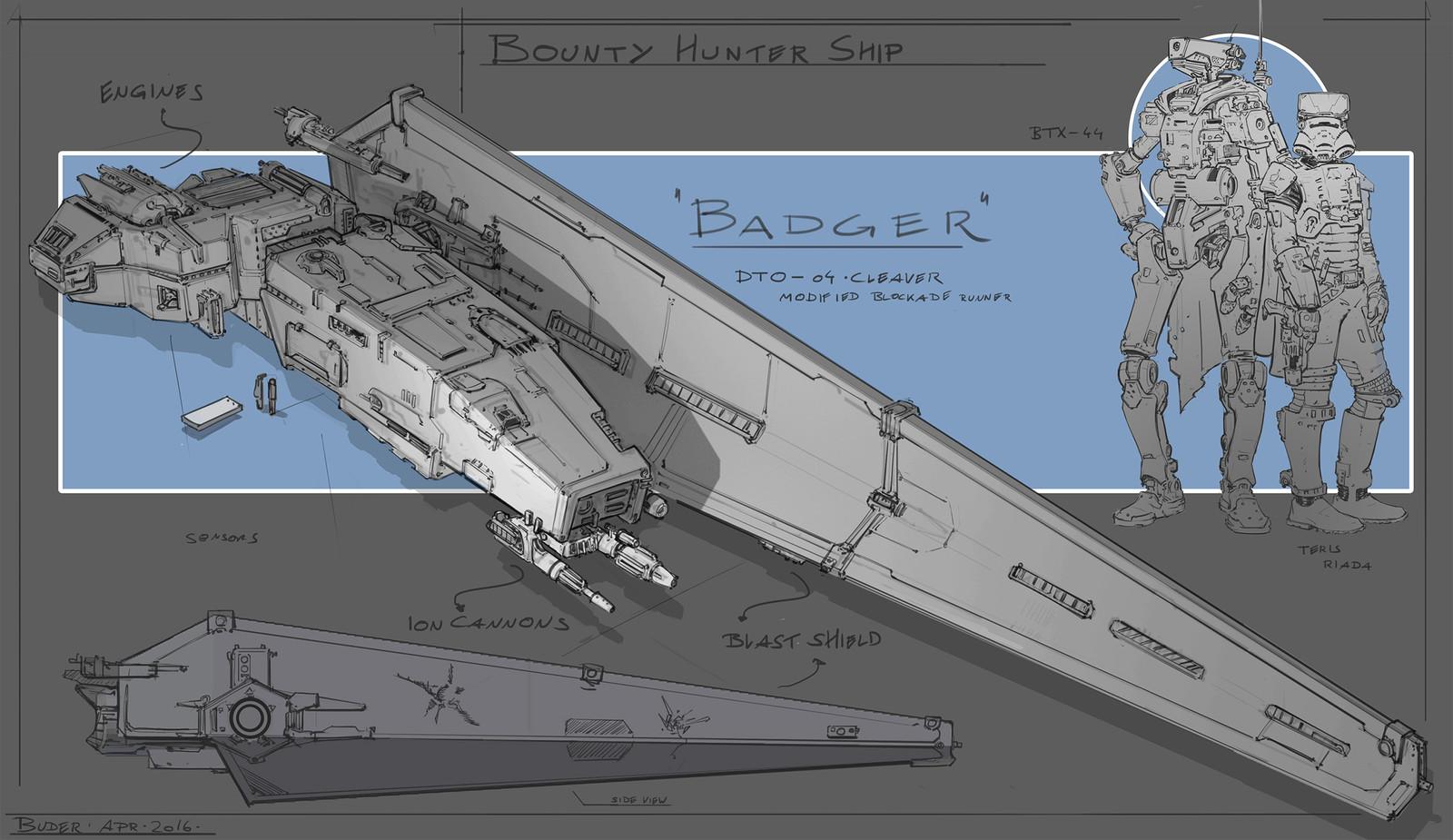 Bounty Hunter Ship