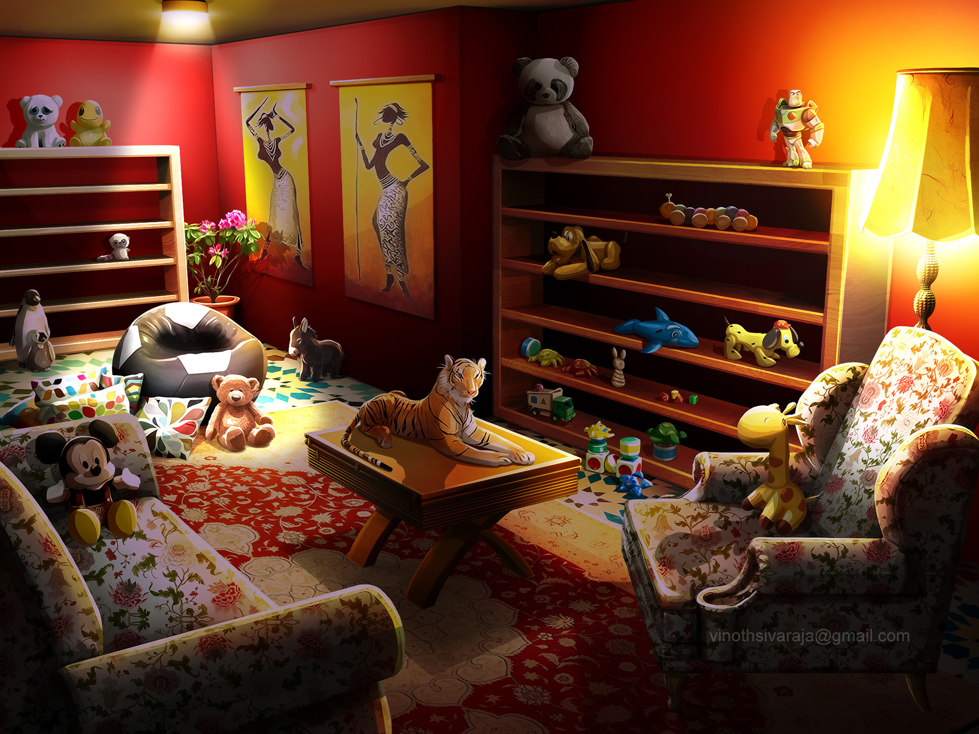 Kids Room By Vinoth Sivaraja