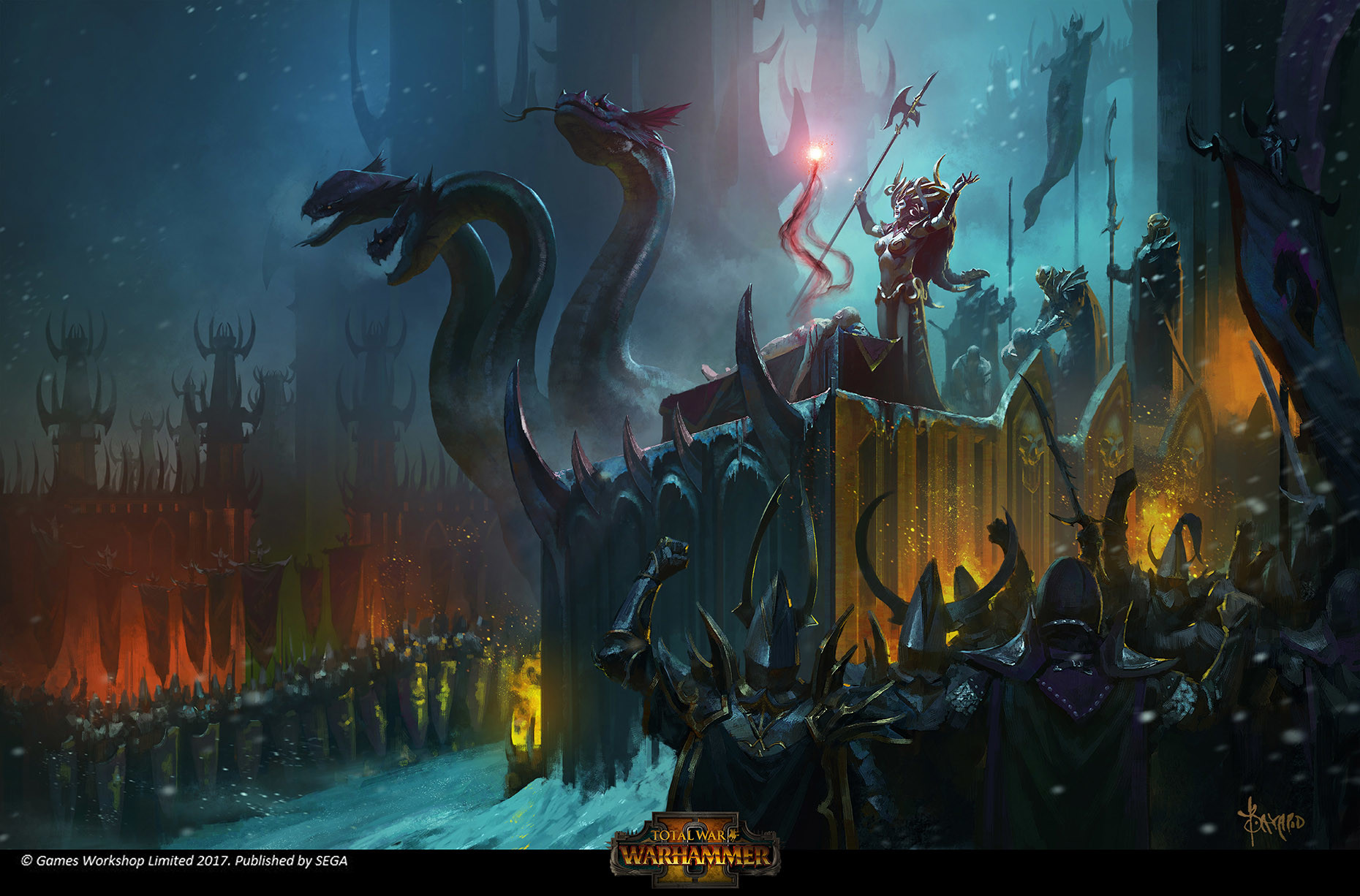 Dark Elves Loading Screen