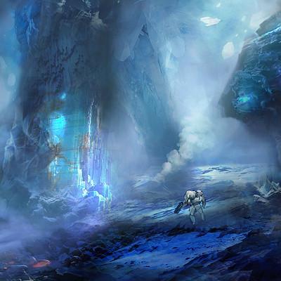 Pradal aurele enter the cave
