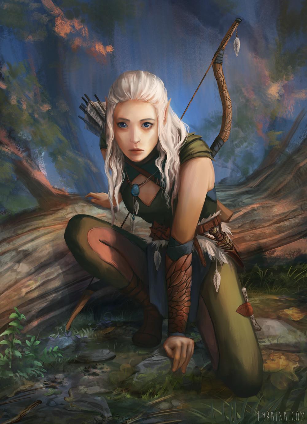 ArtStation - The Dark Eye: Cendhre Nachtwind, Johanna ...