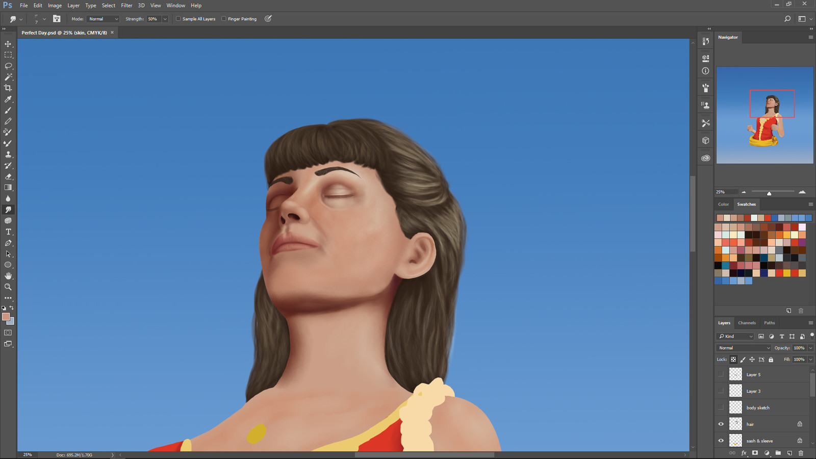 Third in progress screenshot.