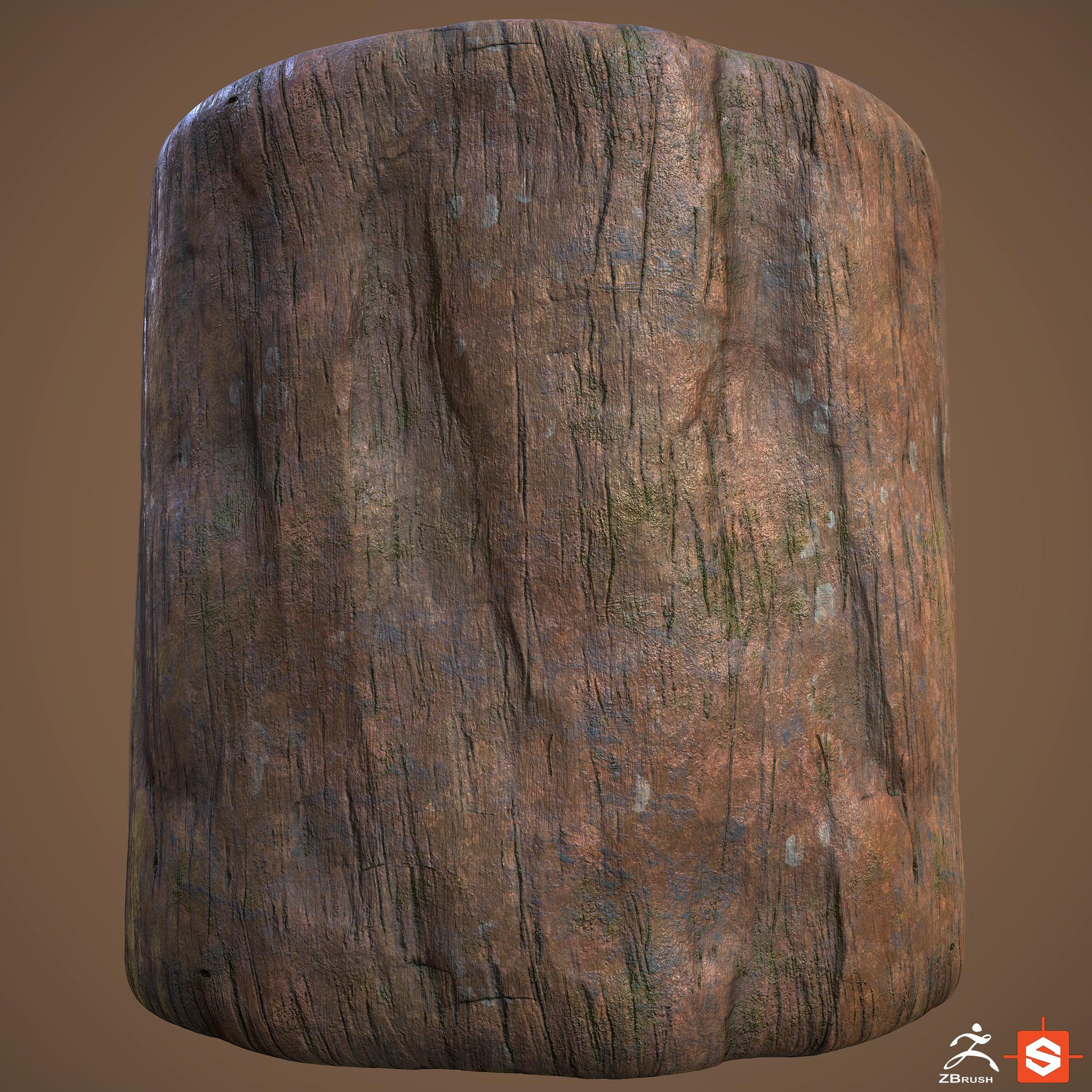 Bark material