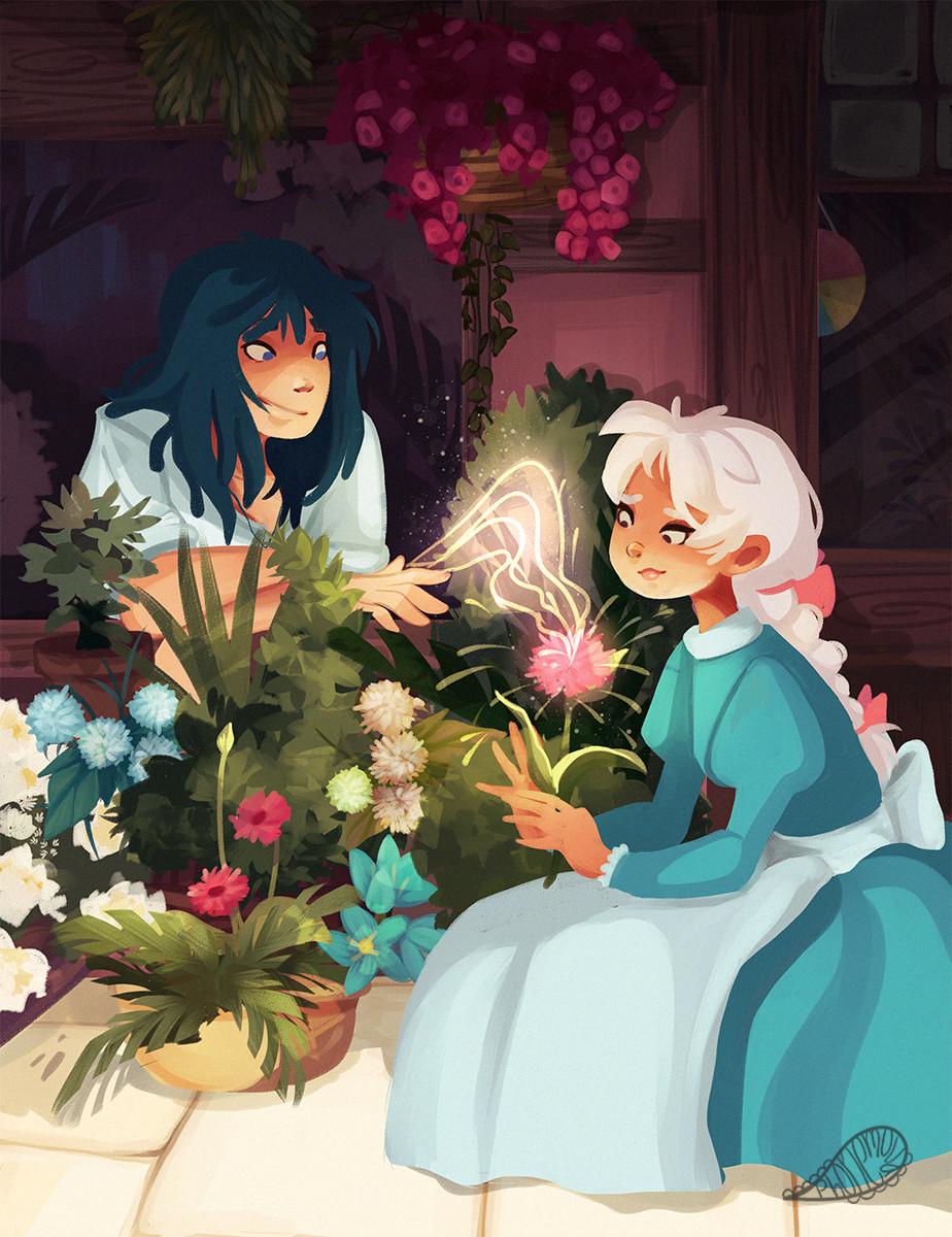Vanessa morales floweryhs by phonemova