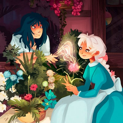 Howl's Moving Castle Flowery