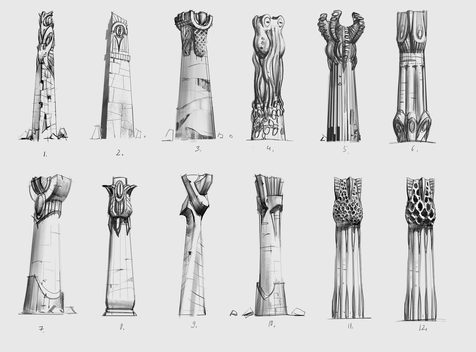 Pavel goloviy pillars