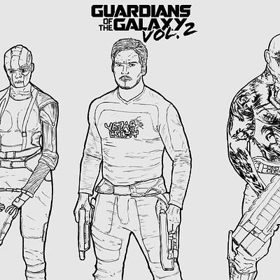 Eli inkman guardians of the galaxy vol 2 detailing