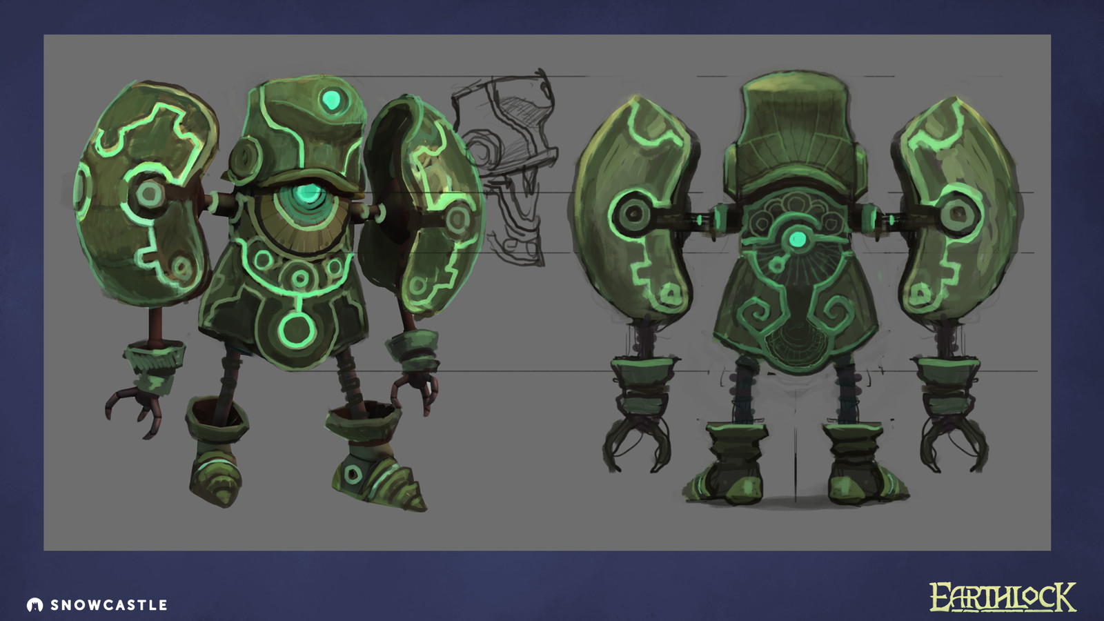 Design sheet for PAT's light ceramic armour.