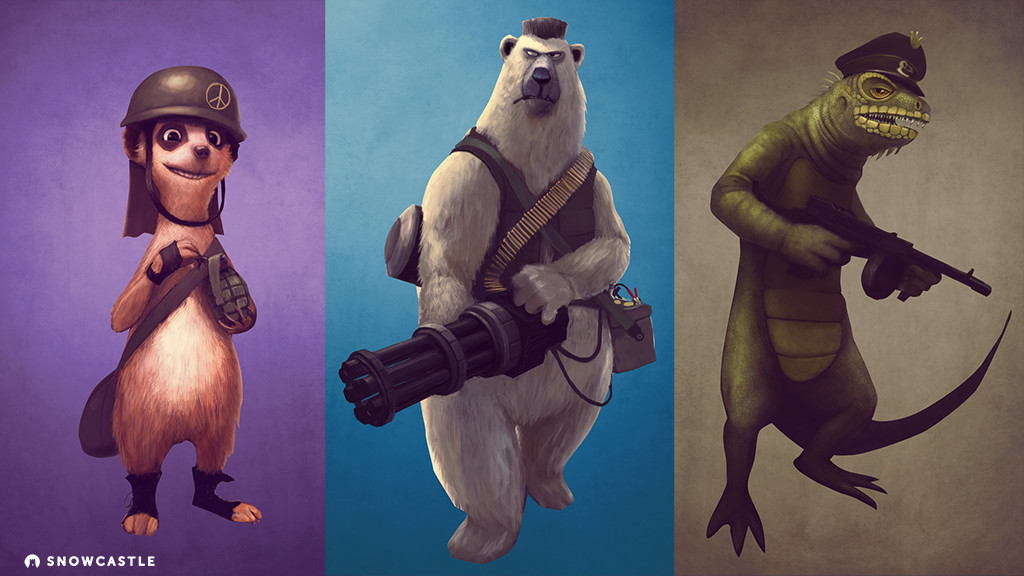 Character concepts.