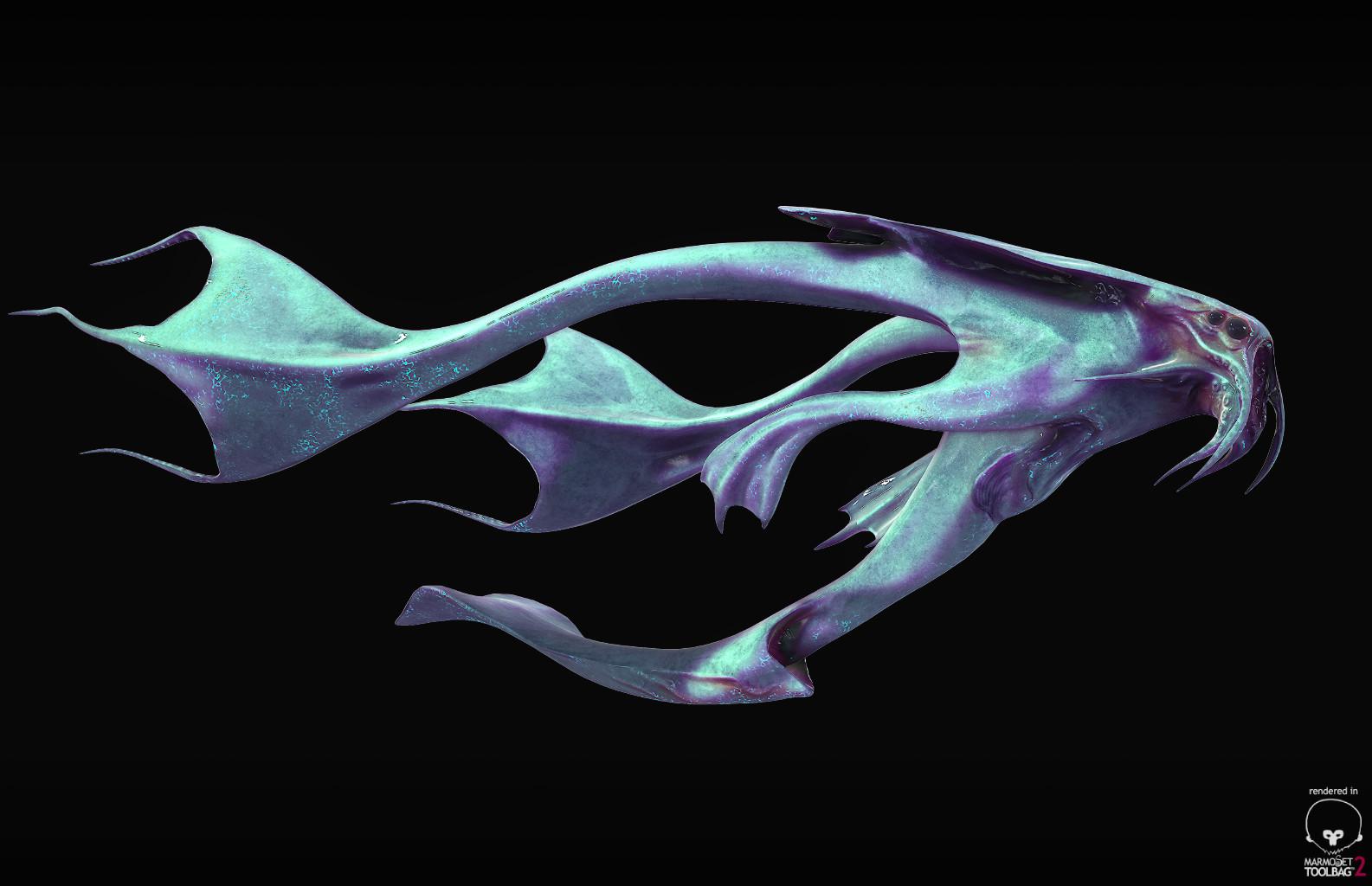 Aquatic Alien - Front