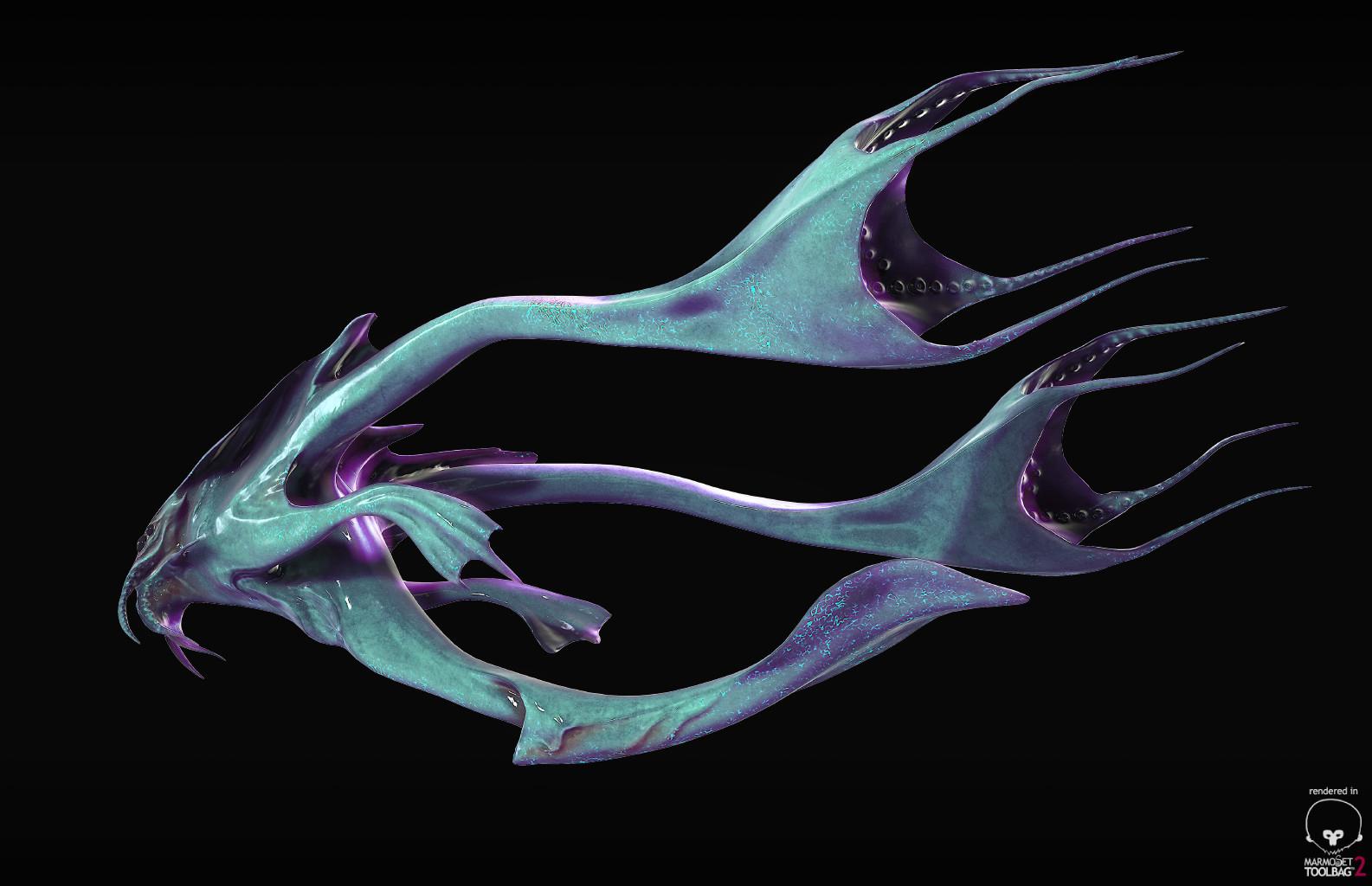 Aquatic Alien - Back
