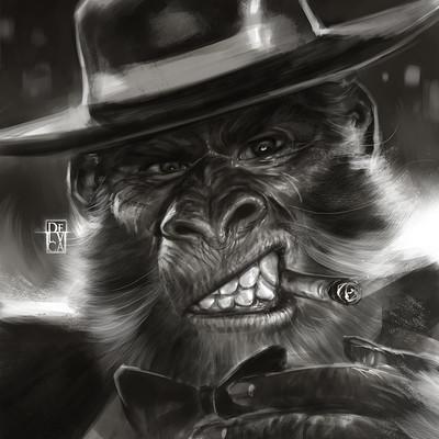 Antonio de luca scimmia