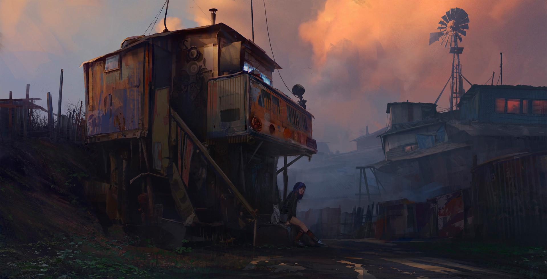 Sergey vasnev sergey vasnev sunset in slums exp