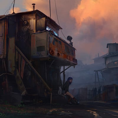 Sergey vasnev sergey vasnev sunset in slums exp