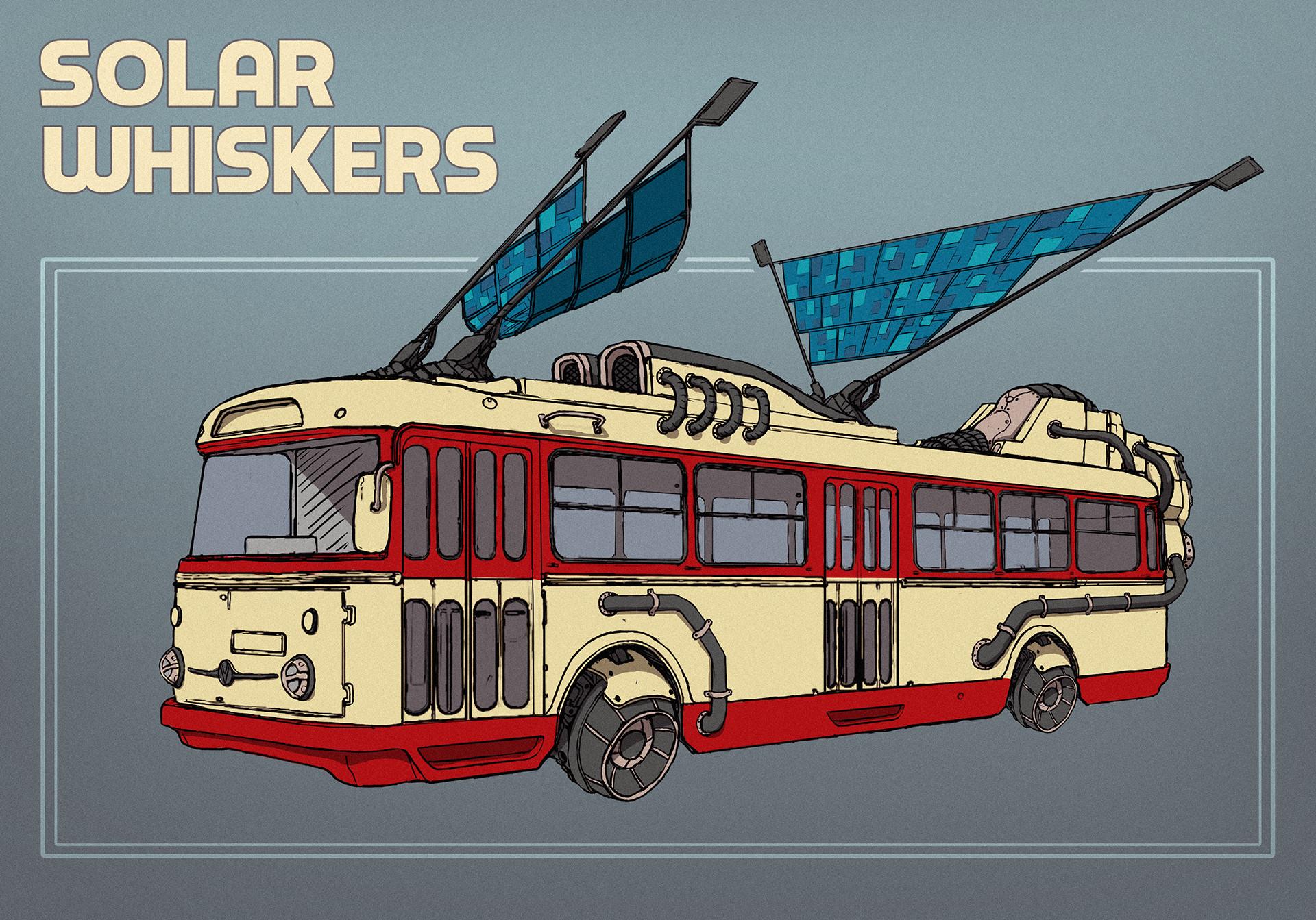Danas matusevicius solar whiskers