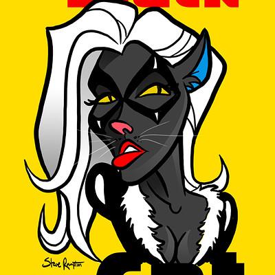 Steve rampton black cat