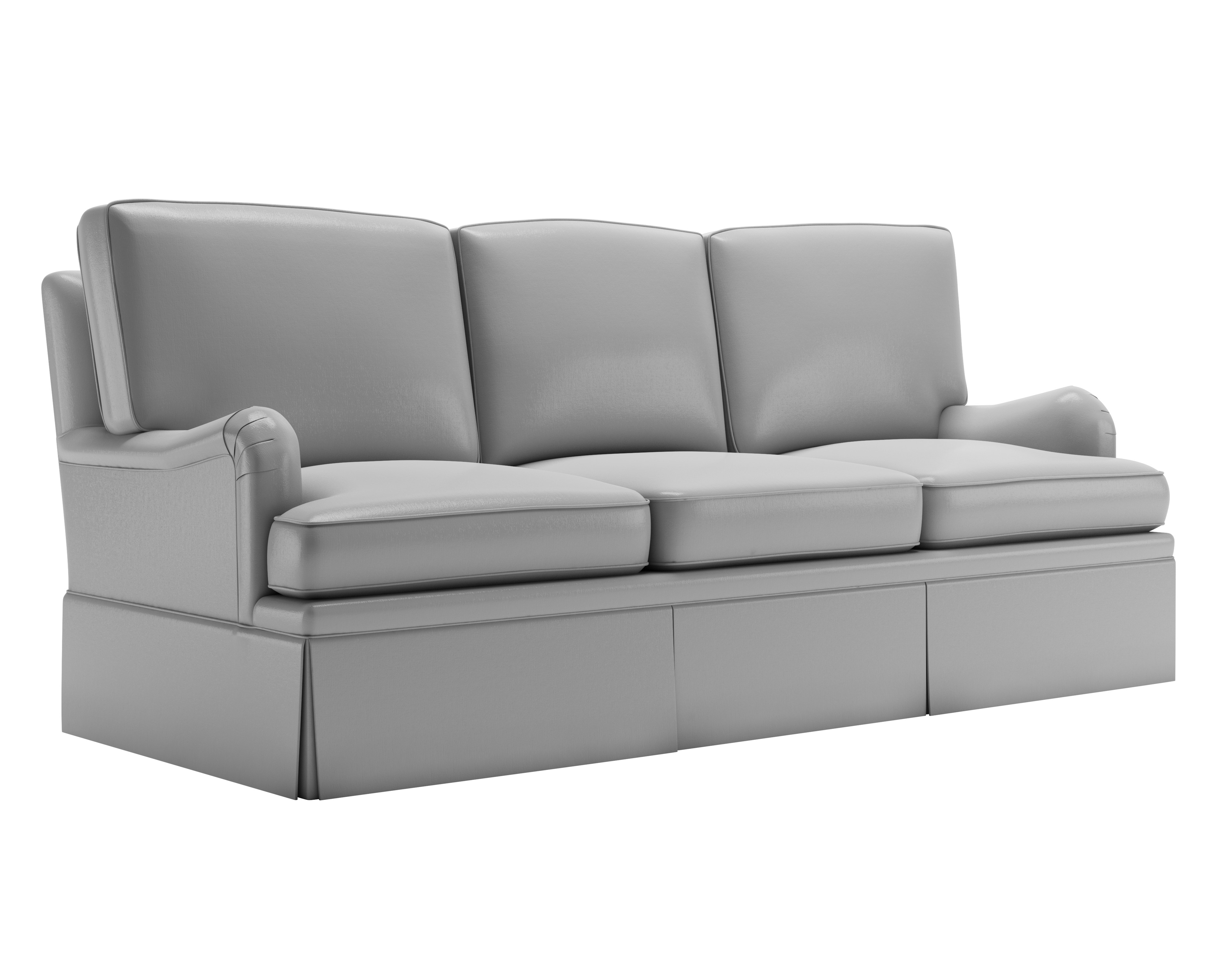 Sofa Style 1 - Clay Render