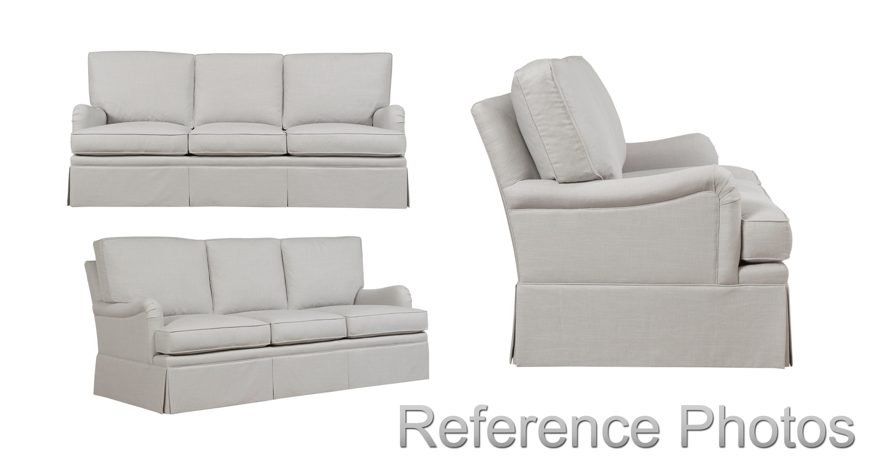 Sofa Style 1 reference photographs provided by Duralee.