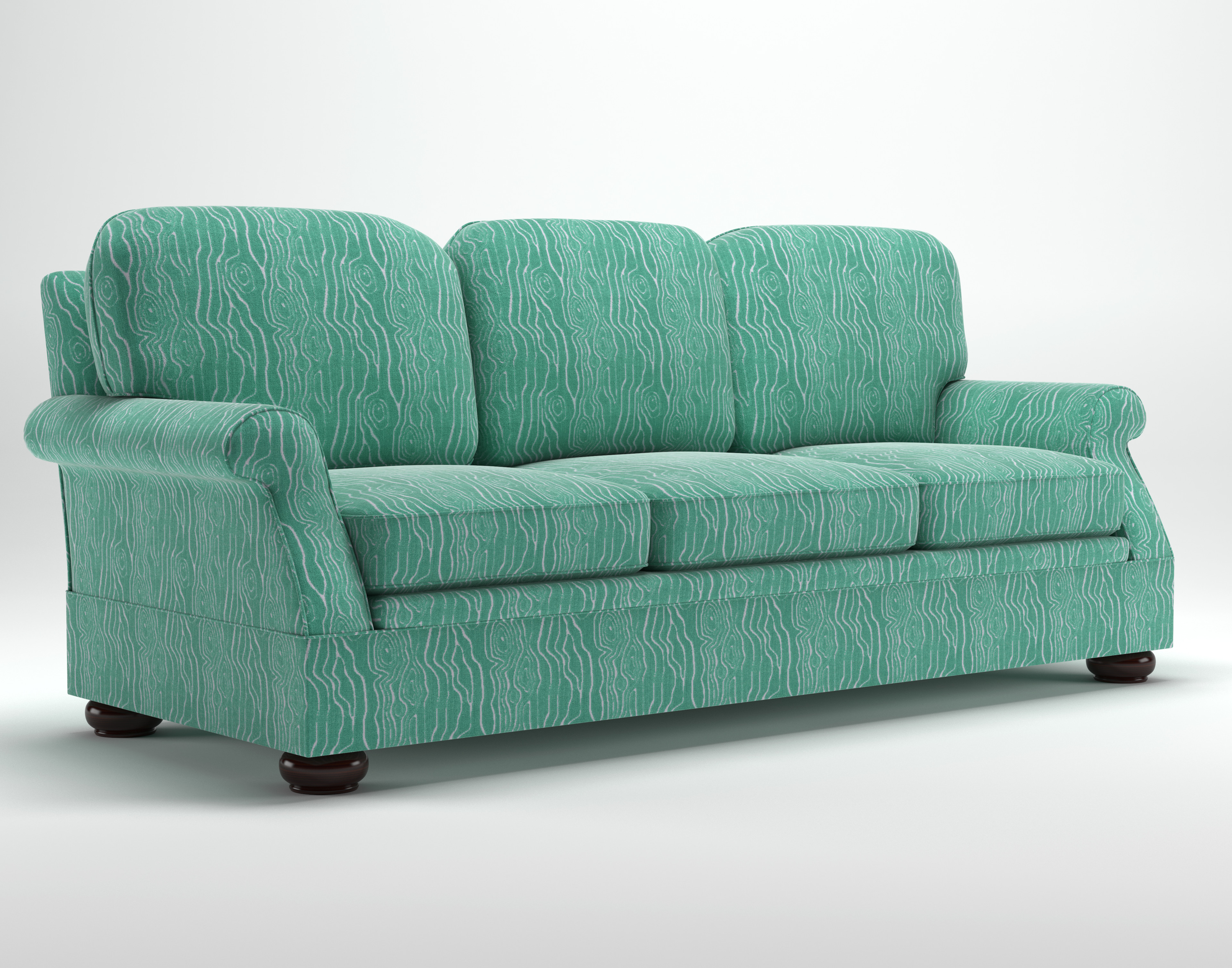 Sofa Style 4: Different style feet.