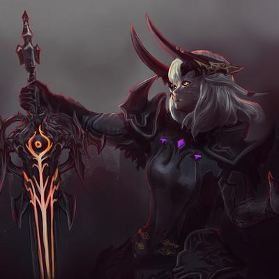 Liark2z a dark knight ffxiv by liark2z da053oo